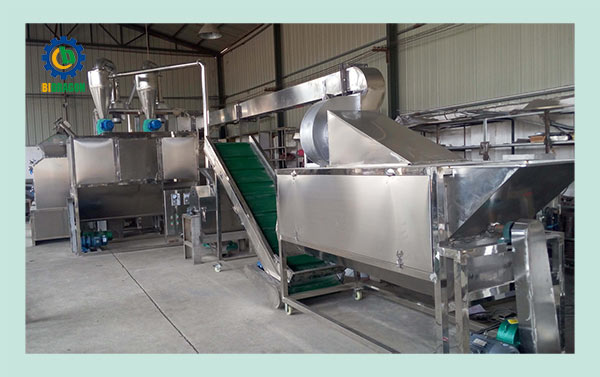 Automatic Chilli Powder Making Machine 200kg/h