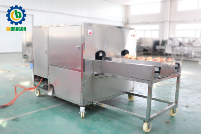 Onion Peeling Machine With Root Cutting And Removing