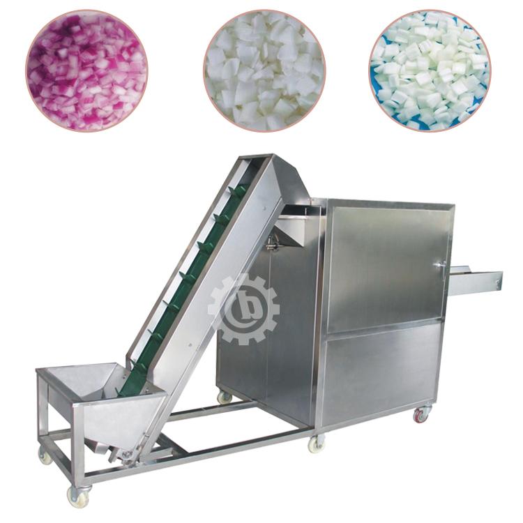 onion cube cutting machine