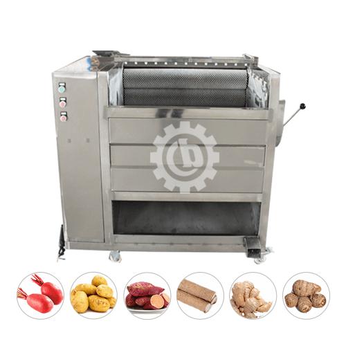 Taro peeling machine