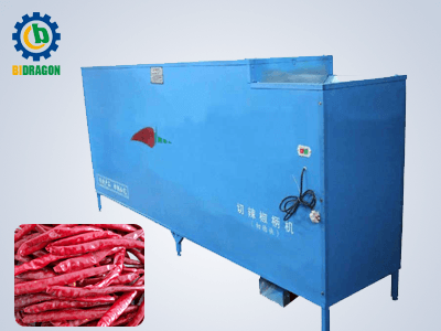 dry chili stem cutting and removing machine with factory price