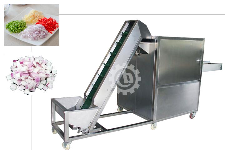 automatic onion slicer machine